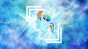 The Rainbow Dash . 2560 x 1440 HD Wallpaper