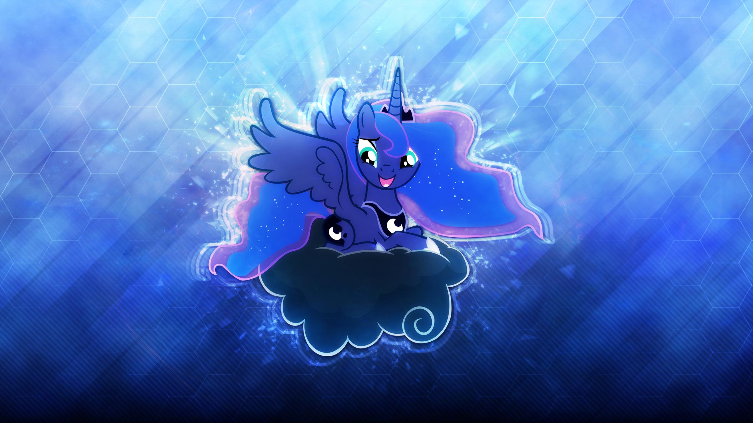Princess Luna . 2560 x 1440 HD Wallpaper