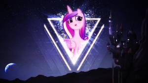 Princess Cadence . 2560 x 1440 HD Wallpaper