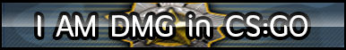 CS:GO DMG (Distinguished Master Guardian) Button .