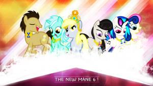 The New Mane 6 ? . 2560 x 1440 HD Wallpaper