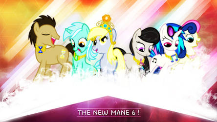 The New Mane 6 ? . 2560 x 1440 HD Wallpaper by sHAAkurAs