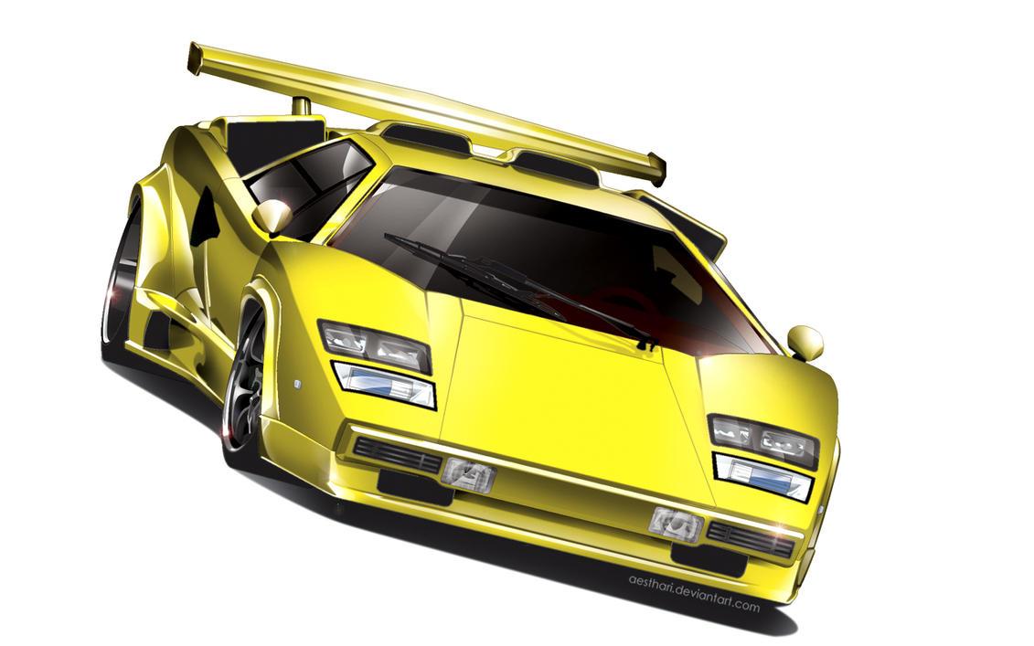Lamborghini Countach by Aesthari