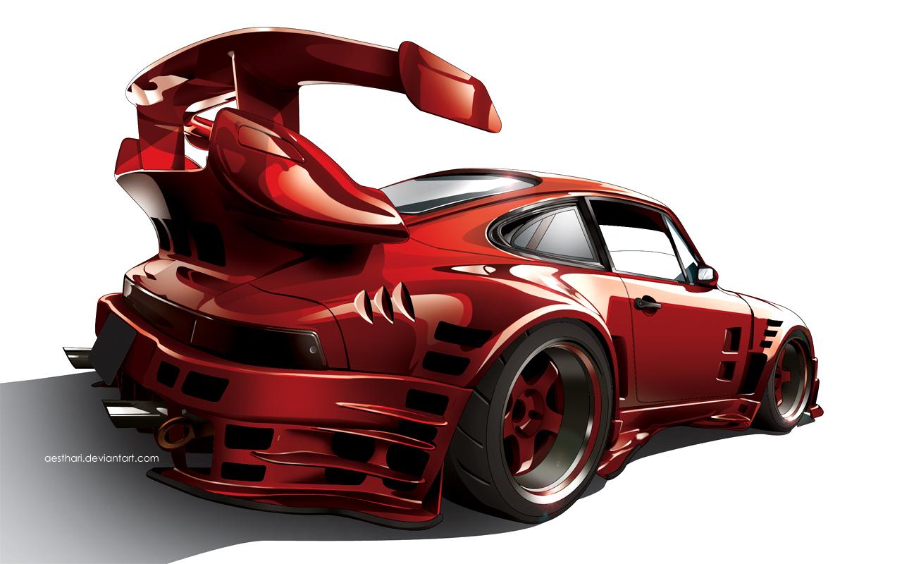 RAUH-Welt Porsche 911 by Aesthari