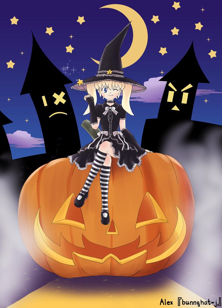 Mina-chan's Creepy Halloween Show by BunnyHat-J