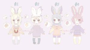 {CLOSED} Pale pixie bunnies