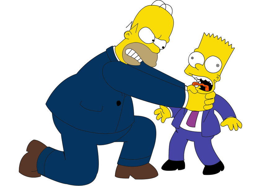 Why you little...! by WilliamFreeman