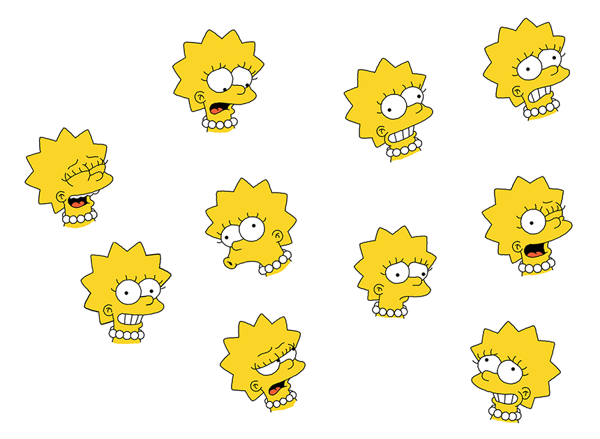 Lisa's many moods - Part 1 by WilliamFreeman