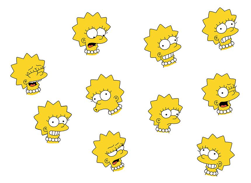 Lisa's many moods - Part 1 by WilliamFreeman