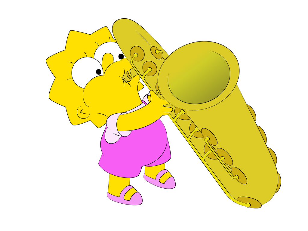 Lisa's Sax by WilliamFreeman