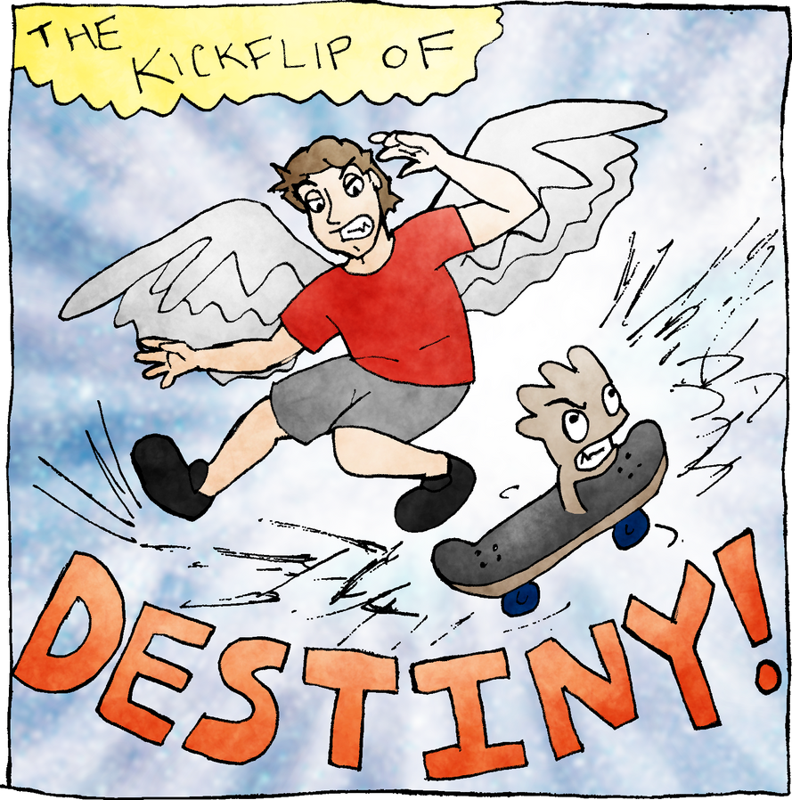 Kickflip of Destiny by GriffonLyles