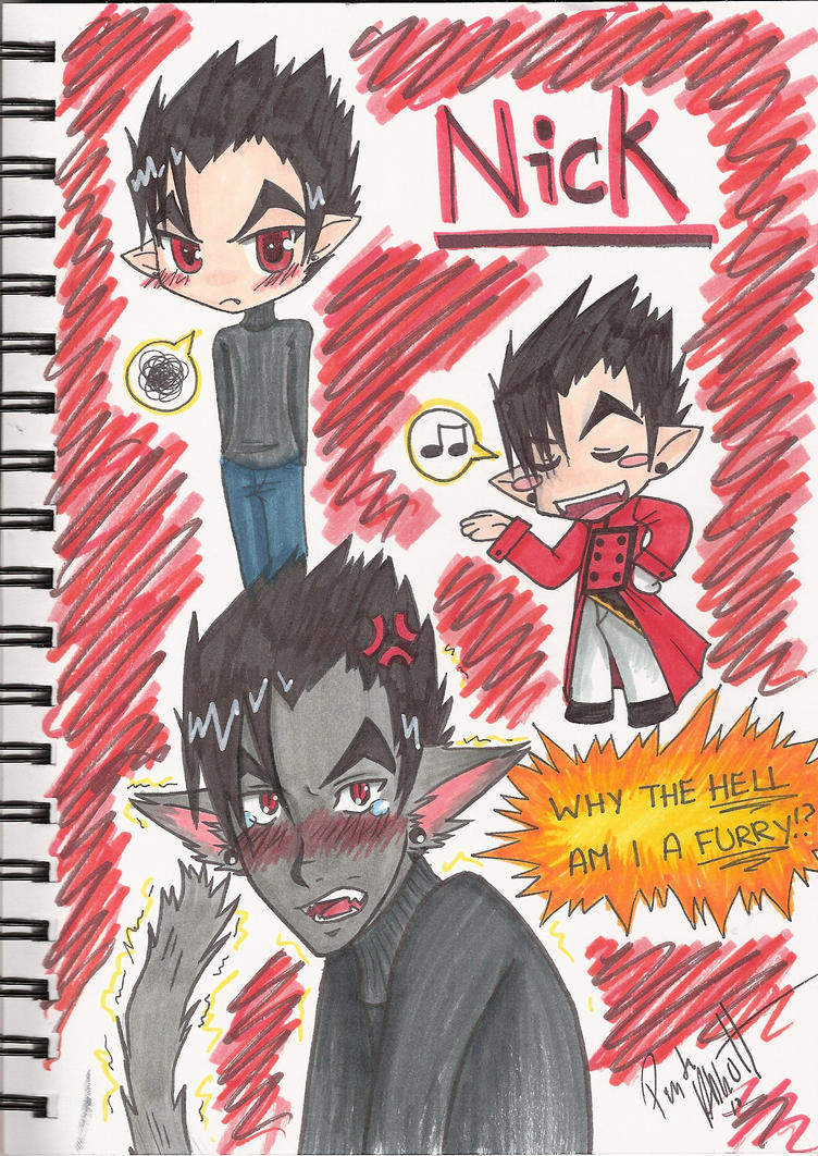 Style Study: Nick by ReadySetBrains on DeviantArt