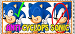 anti-cyclops sonic stamp by fristdynamo2