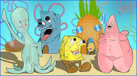 spongebob and pals