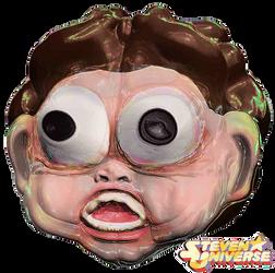 STEVEN UNIVERSE head in 3D by fristdynamo2