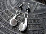 iPod earphones earrings