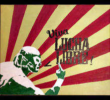 Viva Lucha Libre by hairtonic