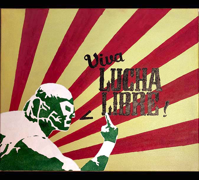 Viva Lucha Libre by hairtonic on DeviantArt