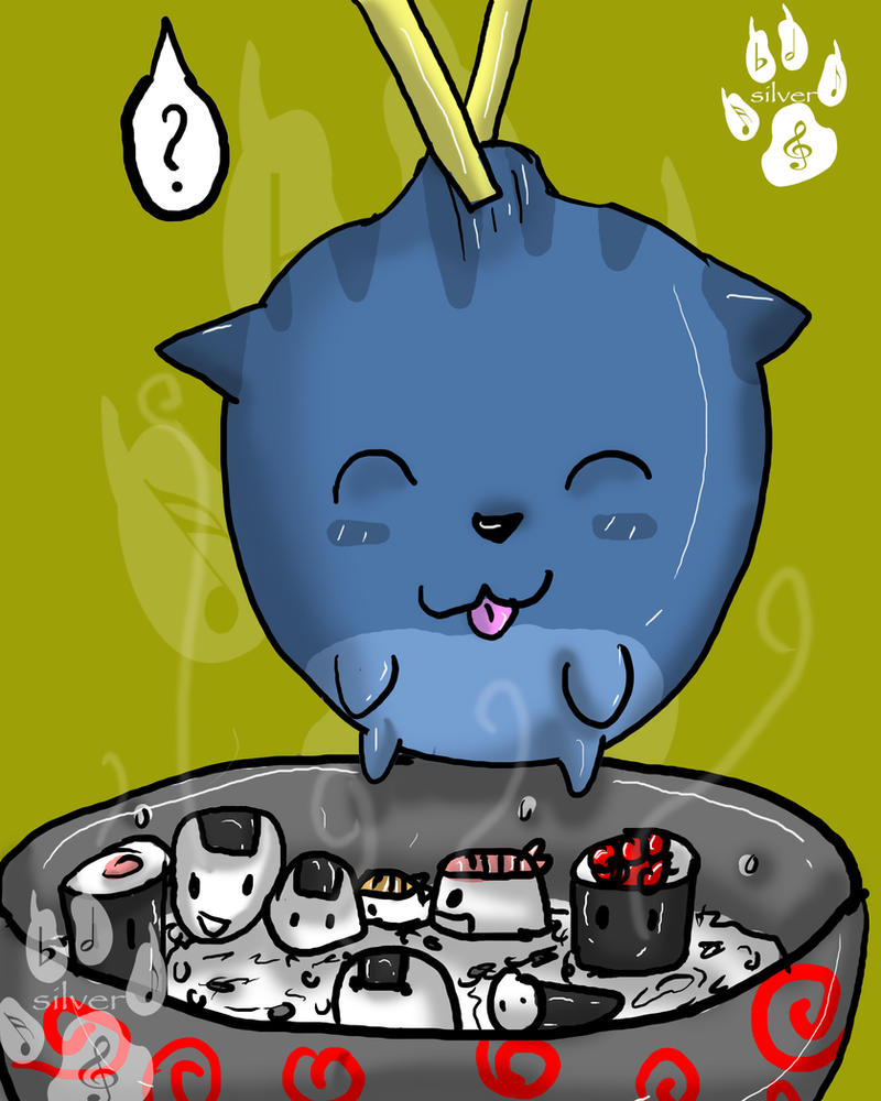 Sushi Cat  Silver Games