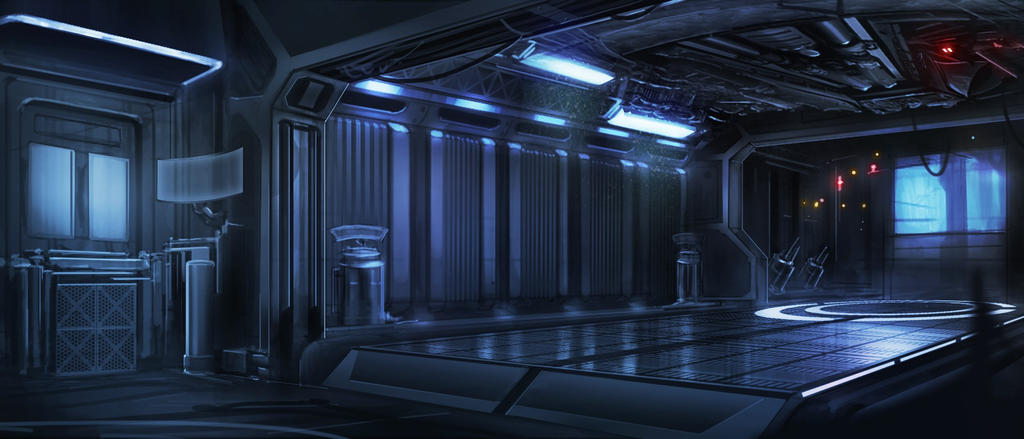 Space ship interior by waqasmallick on deviantart for Interior space