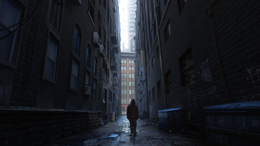 alley way by waqasmallick