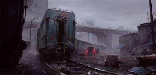 Rain by waqasmallick