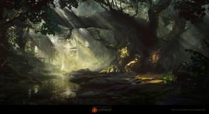 jungle by waqasmallick