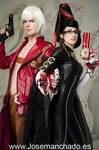 Dante and Bayonetta