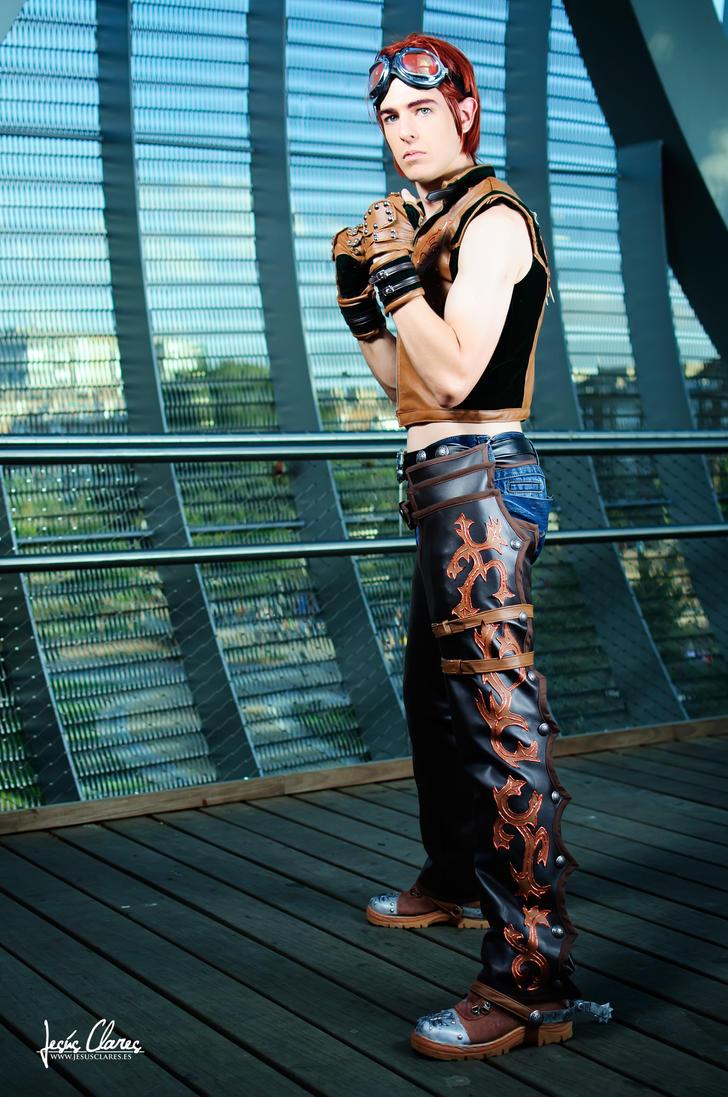 Hwoarang by Zihark-cosplay