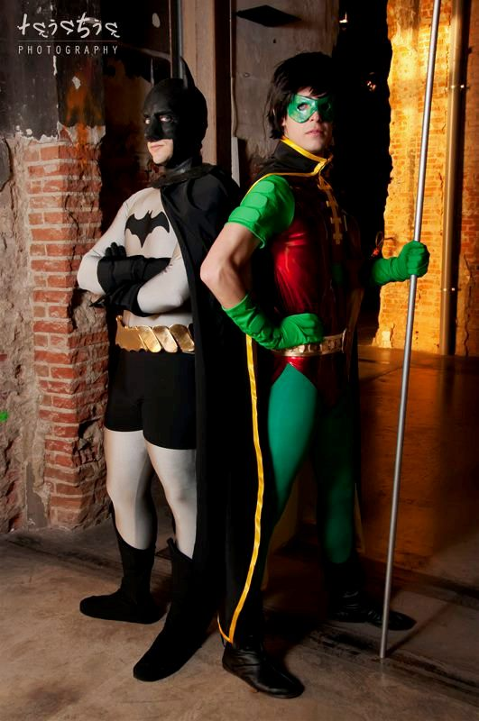 Batman and Robin by Zihark-cosplay