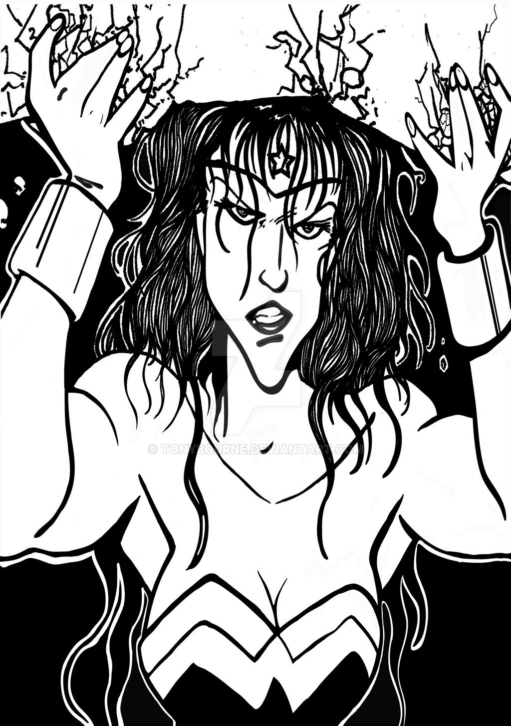 Wonder Woman by TonyBourne