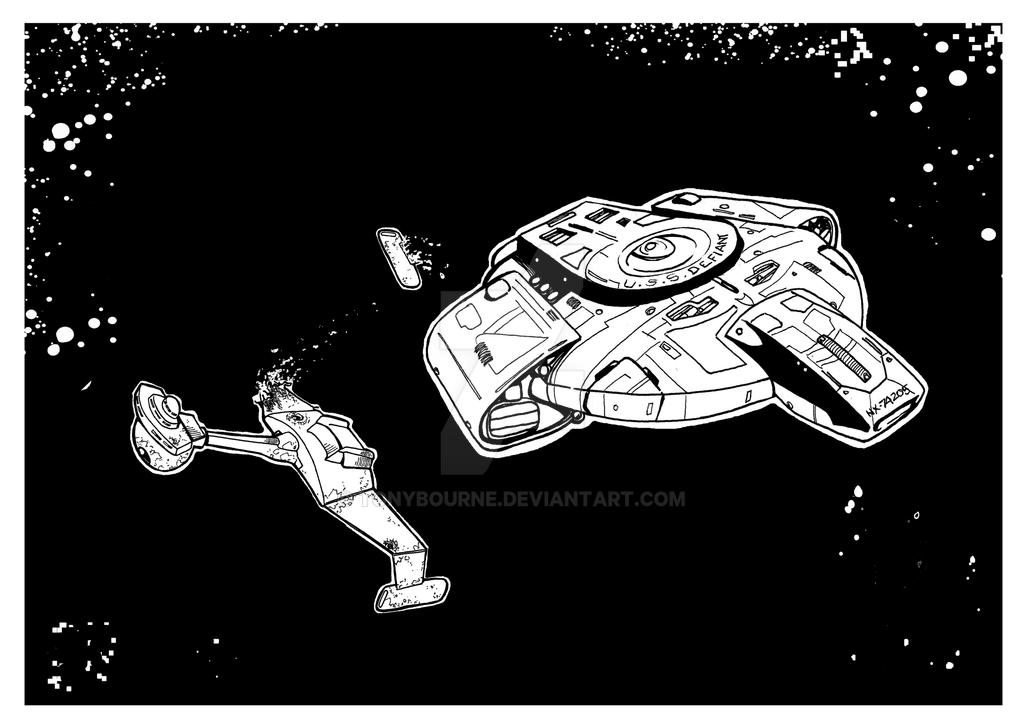 The Defiant by TonyBourne