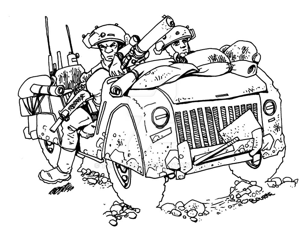 Scout truck by TonyBourne