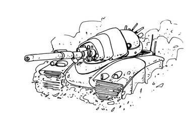 Drone Tank by TonyBourne