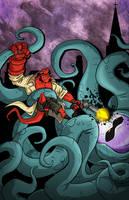 Hellboy 11x17 by TheVirusAJG