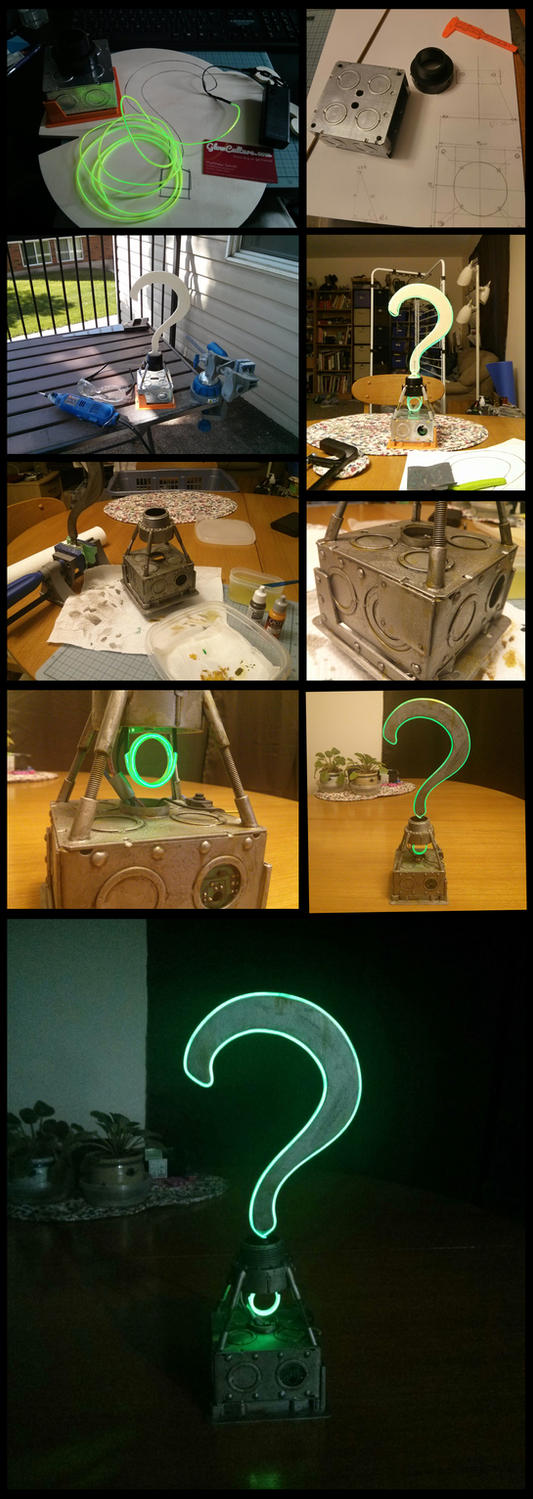 Riddler Trophy Prop by TheVirusAJG