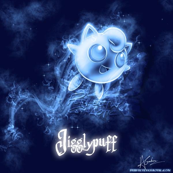Jigglypuff Patronus by TheVirusAJG