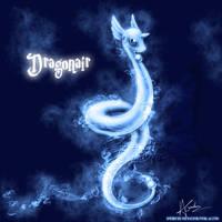 Dragonair Patronus by TheVirusAJG