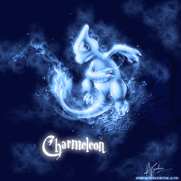 Charmeleon Patronus by TheVirusAJG