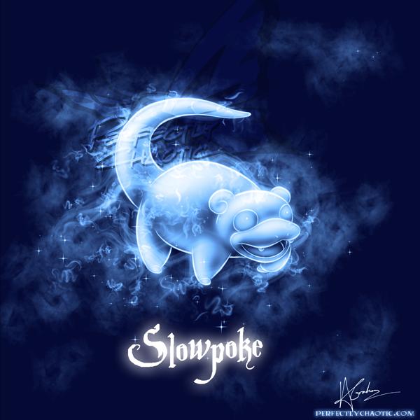 Slowpoke Patronus by TheVirusAJG