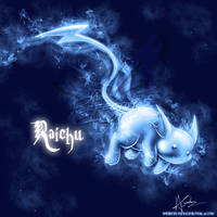 Raichu Patronus by TheVirusAJG