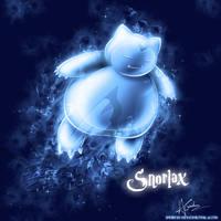 Snorlax Patronus by TheVirusAJG