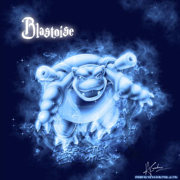 Blastoise Patronus by TheVirusAJG