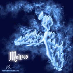Moltres Patronus by TheVirusAJG
