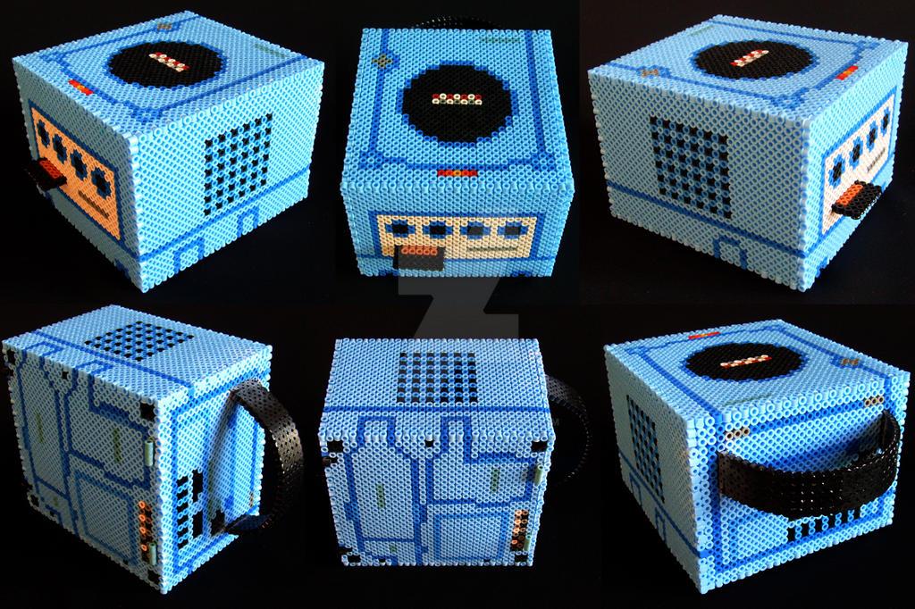 Game Cube En Perles Hama By Jerome Lecomte On Deviantart