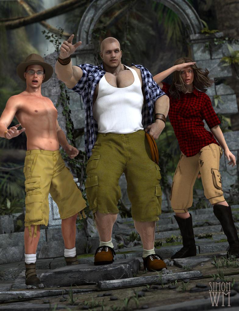 Raiders of the Lost Treasure by SimonWM