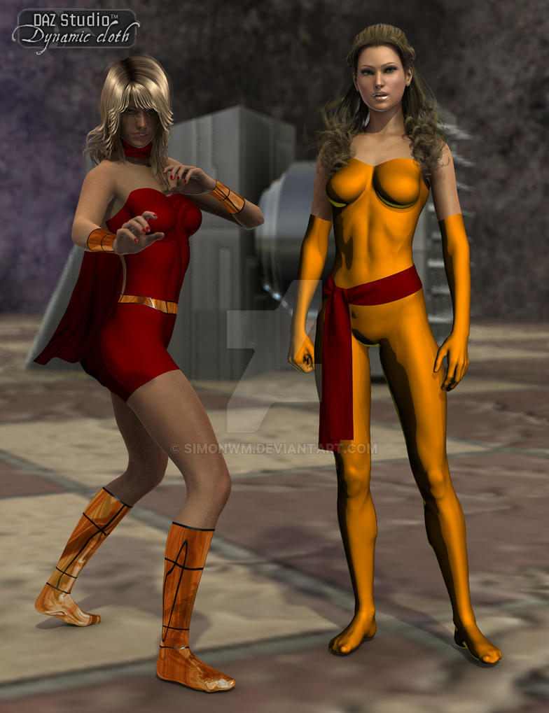 Heroines in Training by SimonWM