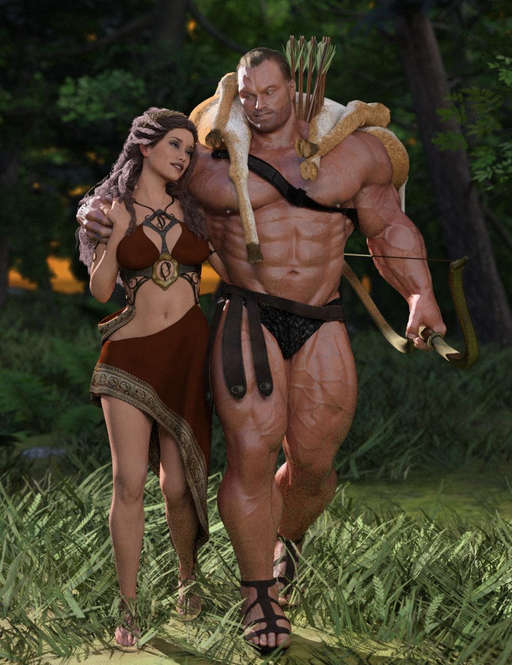Hercules and Deianira by SimonWM on DeviantArt