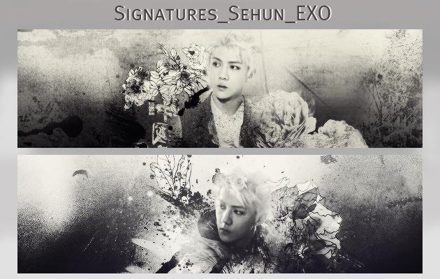 Signatures_Oh sehun_exo by kayleetihun