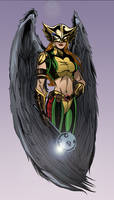 Hawkgirl by TimelessUnknown